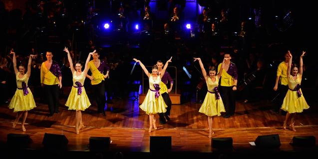 Uno de los momentos de 'Welcome to Broadway'