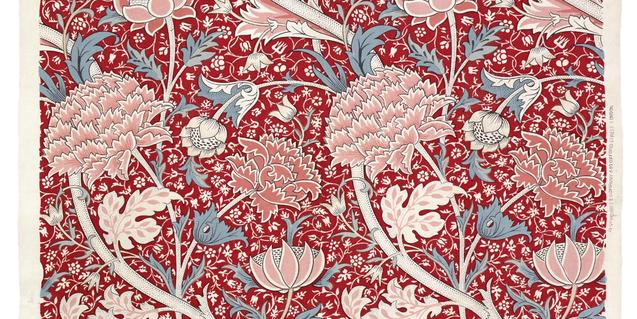 A detail of a work by William Morris for Morris & Co. © The Whitworth, The University of Manchester