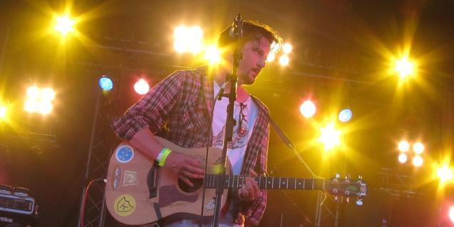 Dan Wilson, ànima del projecte de folk-rock escocês Withered Hand
