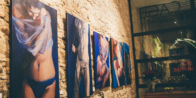 'WO in Motion' a la CAGE Gallery