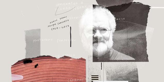 Un collage que inclou una imatge del músic Pierre Henry serveix de cartell a l'edició d'enguany del festival