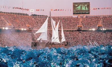 Imatge de 'Mediterrani, mar olímpic' de La Fura dels Baus