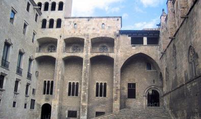 Palacio Real Mayor en la plaza del Rey