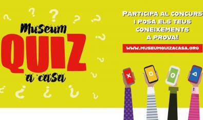 'Museum Quiz a casa' és una iniciativa del Museu Marítim i el Museu de Ciències Naturals de Barcelona
