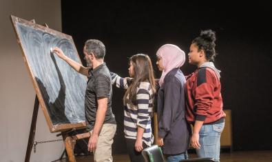 'Creadors EN RESiDÈNCIA als instituts de Barcelona'
