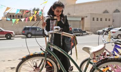 'La bicicleta verde' (Haifaa al-Mansour)