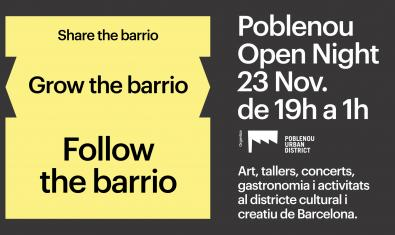 Poblenou Open Night