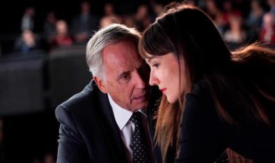 Fabrice Luchini i Anaïs Demoustier a 'Els consells de l'Alice'