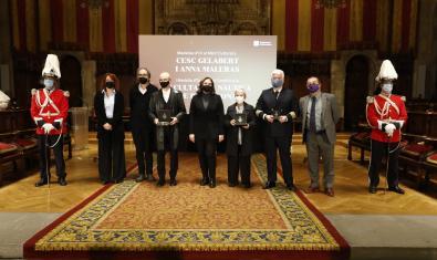 Entrega de las Medallas de Oro al Mérito Cultural y al Mérito Científico