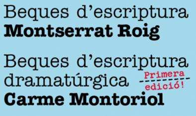 Becas Montserrat Roig y Carme Montoriol