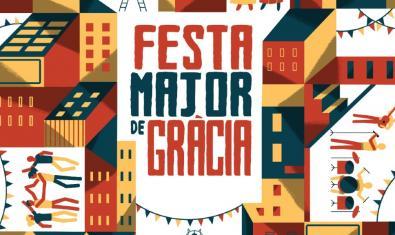 Cartell de les Festes de Gràcia, de Sergi Solans