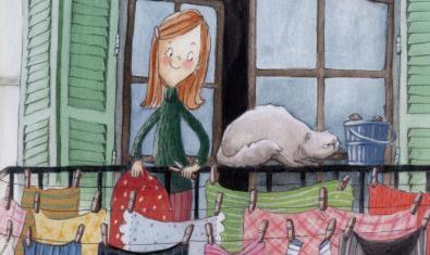 La Mariona és la protagonista d'un dels contes del Tibidabo.