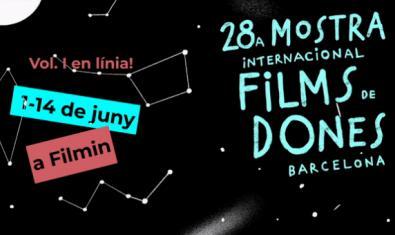 Cartell de la 28a Mostra Internacional de Films de Dones de Barcelona