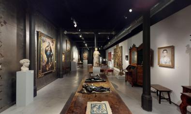 La galería Artur Ramon Art está cerrada al público y ofrece exposiciones virtuales