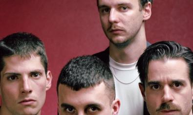 Retrat de grup dels quatre integrants de la banda