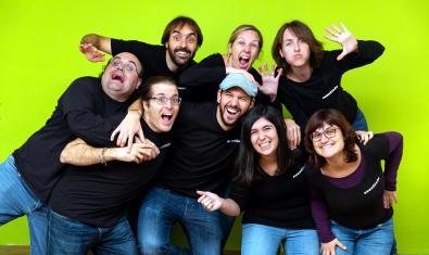 Una imatge promocional del grup.