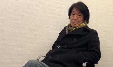 El fotògraf Daido Moriyama en el vídeo de salutació que va fer per a la inauguració de l'exposició de Foto Colectania