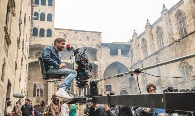 Filmació de la Catedral del Mar