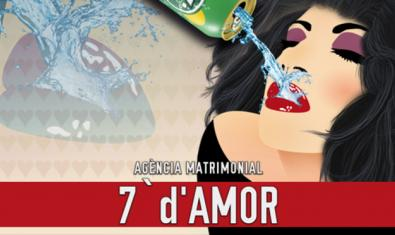 Cartell de l'obra 'Agència matrimonial: 7 d'amor'