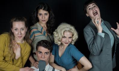 Las cuatro actrices y el actor de '9 to 5'