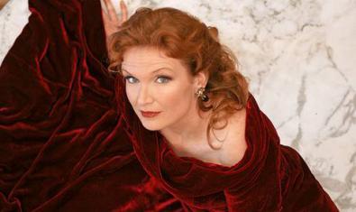 La soprano Anne Schwanewilms