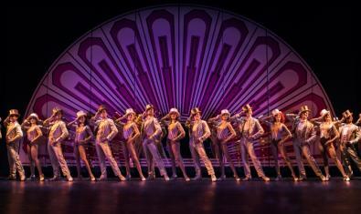 Una escena del musical 'A Chorus Line'