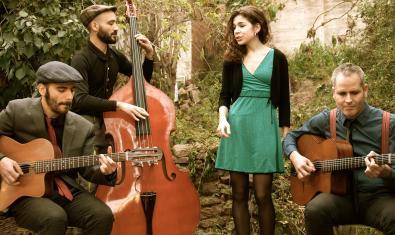 Scaramouche Jazz Manouche es uno de los grupos que encontraréis en la lista 'A tot jazz'