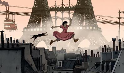 Al París on viu l'Abril hi ha dues Torres Eiffel.