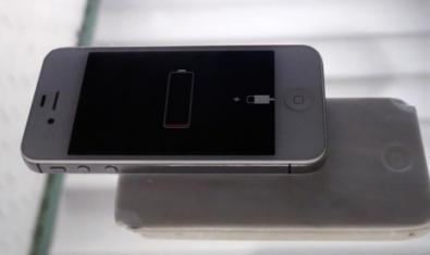 Fotografia d'un telèfon mòbil a punt de quedar-se sense bateria