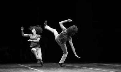 Amir and Hemda, pareja de acróbatas que actuarán en la nueva edición de la EP de La Central del Circ