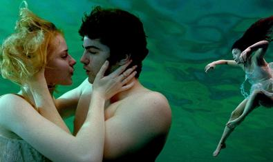 A moment from the film, Across the Universe