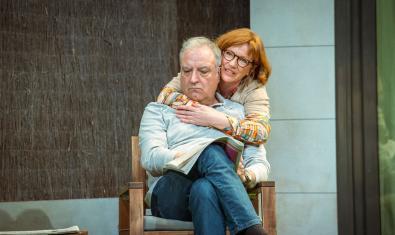 Jordi Bosch y Rosa Renom en 'Adossats'