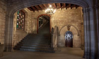 Interior de l'Ajuntament