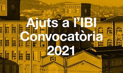 Ayudas al IBI, convocatoria 2021