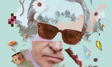 La portada del nuevo disco de la artista muestra su retrato en forma de un collage formado por imágenes de objetos cotidianos