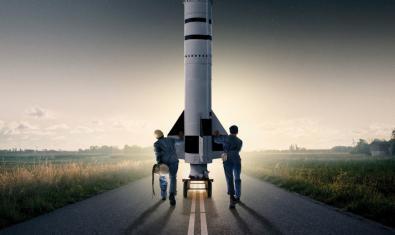 Cartel del documental Amateurs en el Espacio