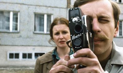Fotograma del film de Kieślowski 'Amator', que se podrá ver los días 10 y 13 de julio