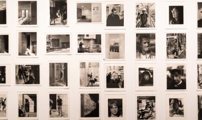 Algunes de les fotografies de Jorge Ribalta que formaven part de l'exposició original