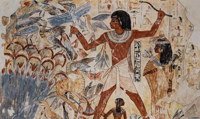 Pintura mural del Antiguo Egipto