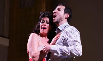 Anna Martínez i Patrik Tapiol interpreten peces del Modernisme musical català