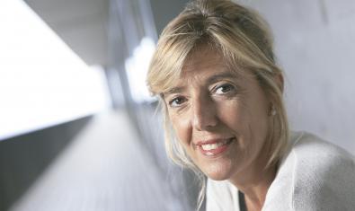 La bióloga Anna Veiga, uno de los nombres que aparece en la exposición