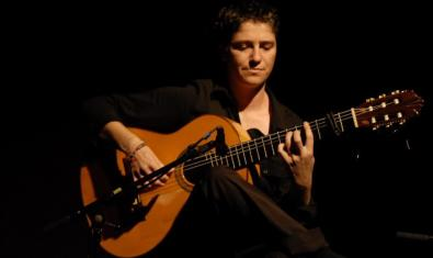 La guitarrista Antonia Jiménez