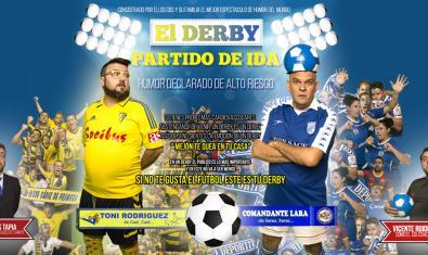 """'""""El derby"""", partido de ida'"""