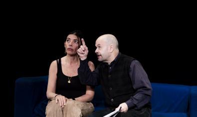 Núria Casas y Mingo Ràfols, pareja en 'Ara que ho tenim tot'