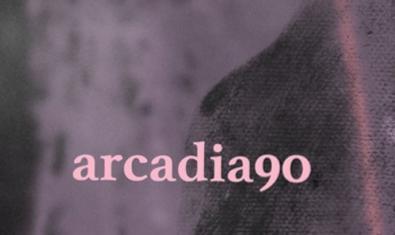Una imagen abstracta con diferentes texturas y el nombre del colectivo en el cartel que anuncia el evento