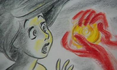 Ilustración original de la Sirenita