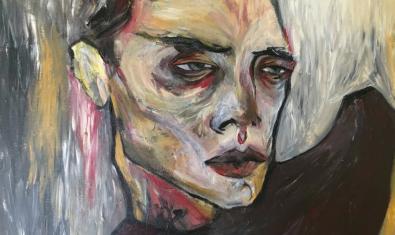 Una de les obres de Bruna Ruiz Planella que s'exposa a la Galeria H2O en el marc del programa Art Nou