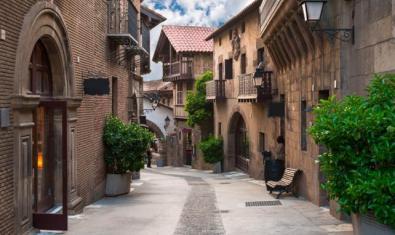 El Poble Espanyol obre els caps de setmana d'hivern a preu reduït