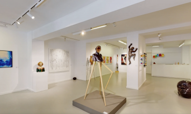Haced una visita virtual a la exposición 'Artis Bona' de la galería de arte 3 Punts