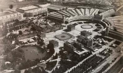 Imatge de l'Exposició Universal de 1888 a la Ciutadella
